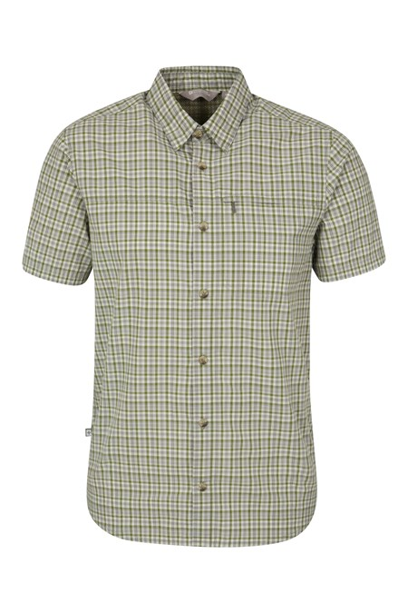 Holiday Short Sleeve Men's Shirt